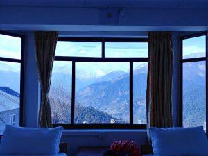 на треккинге в непале