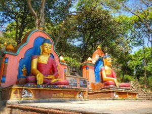 Катманду. Будды