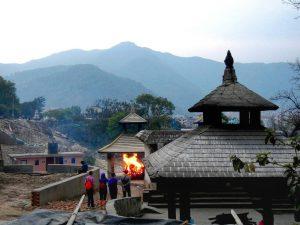 Непал. Катманду. Кремация
