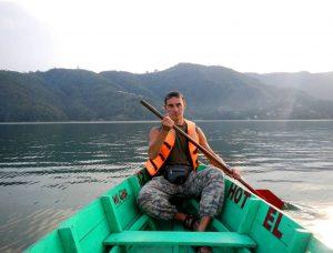 Покхара. Озеро Фева