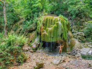 Водопад Серебрянные струи