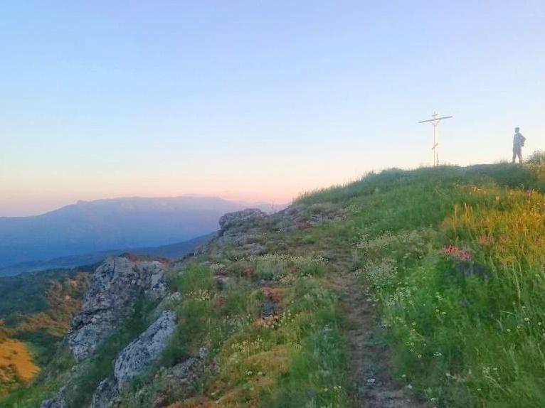 Горный Крым. На закате.