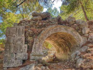 Ликийская тропа - Руины Олимпоса