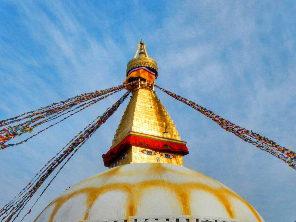 Ступа Бодхи в Непале