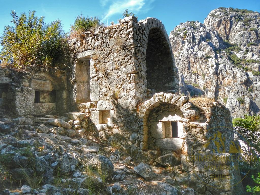 Руины Ликийского города