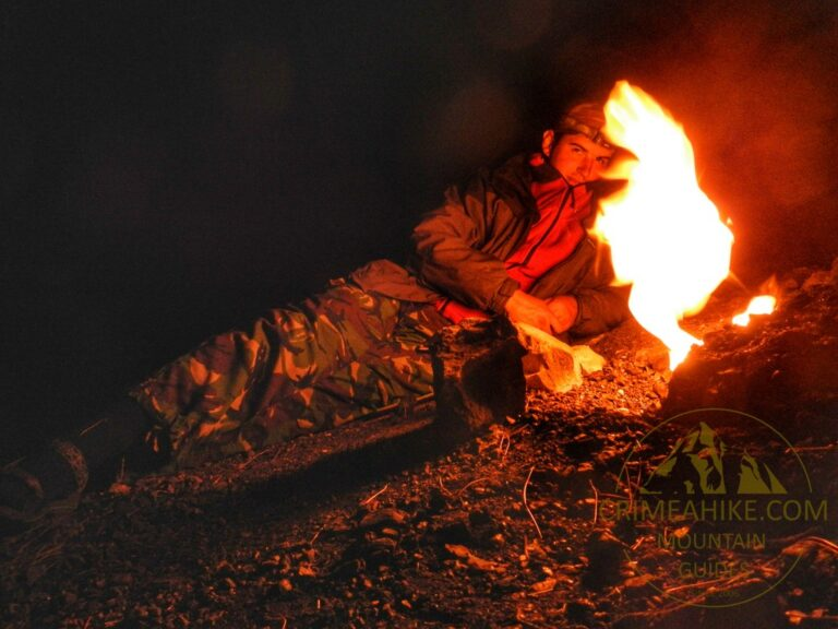 Ночью на горе Янарташ