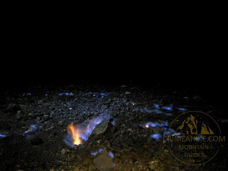 Огненное поле на Химере