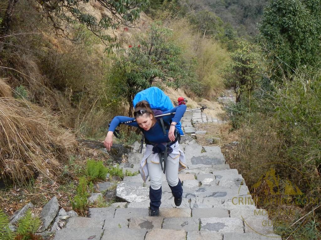Тренировка на выносливость в Непале