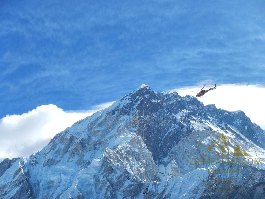 Вертолёт в Непале